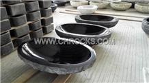 Shanxi Black Granite Sinks, Black Granite Basins