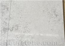 Guangxi Cross Cut Crema Grey Travertine for Paving