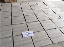 Guizhou White Wooden Marble Tiles,Wood Vein Grain