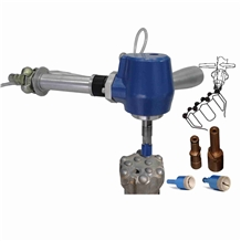 Pneumatic Button Bit Grinding Machine