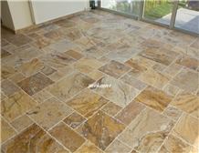 Scabos Pattern Set Travertine