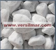 Bianco Carrara Pebbles Mm. 40/60.