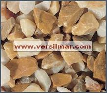 Giallo Siena Pebbles & Chips