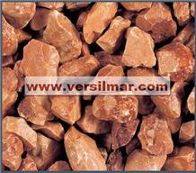 Rosso Verona Pebbles & Chips