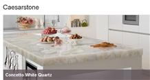 Concetto White Quartz - Worktops in Composite Stone