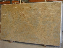Kashmir Gold Granite Slabs ,India Yellow Granite