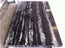 Silver Dragon Marble,Black Portoro Marble Slab