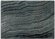 Black Serpeggiante Polished China Marble Slabs