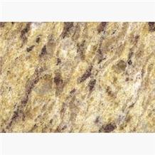 Giallo Ornamental Golden Granite Tiles Slabs Floor