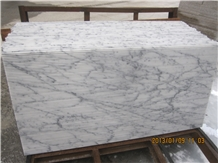 Arabescato Carrara White Marble Slabs & Tiles