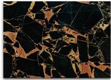 Portoro Black Marble Stone Slabs Tiles China Floor