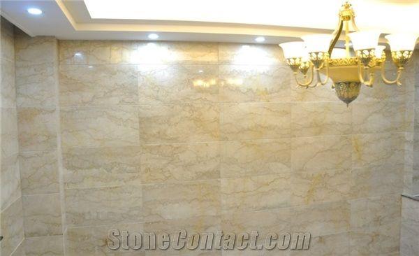 Ivory Cream Beige Marble Slabs Tiles