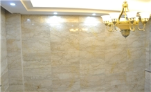 Ivory Cream Beige Marble Slabs Tiles Panel Wall Cladding,Floor Covering Pattern,Interior Bathroom