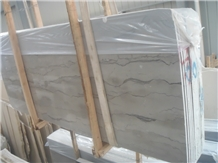 Silver Grey Wave Marble Slabs & Tiles