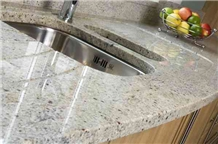 Kashmire White Kitchen Countertop