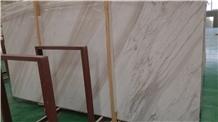 Volakas White Marble Slab,White Marble Tile