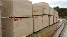 Roman Travertine Classico Fosse Blocks