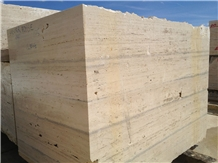 Roman Travertine Silver Fosse Blocks