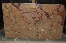 Crema Bordeaux Granite Slabs, Brazil Brown Granite Slabs & Tiles