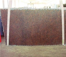 Jatoba Granite, Brazil Red Granite Slabs, Vermelho Gaucho Granite Slabs