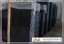 Black Marquina Marble Slabs & Tiles