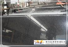 G684 Pearl Black Granite Tiles & Slabs