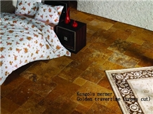 Yellow Travertin, Gold Travertine, Travertino Oro