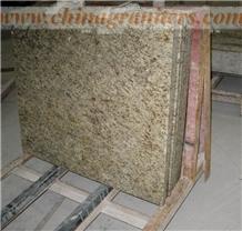 Giallo Ornamental, Yellow Granite Countertops