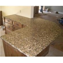 Kitchen Countertop,Yellow Granite Countertop