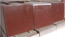 Ruby Red Granite Tiles