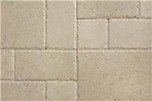 Marble Chiseled Edge, Brushed Pattern Tiles