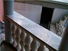 Granite and marble balustrades