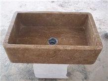 Travertine Farmhouse Sink