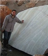 Iran Light Green Onyx Quarry
