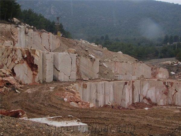 Om Bilecik Rosalia Pink Marble Quarry Stonecontact Com