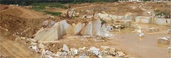 Alabama White Marble Quarry