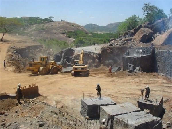 Nero Africa Impala Gurure Quarry Stonecontact Com