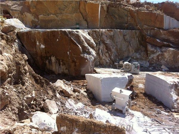 Naxos White Marble Quarry Stonecontact Com