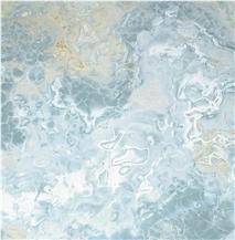 Blue Aqua Gold Onyx