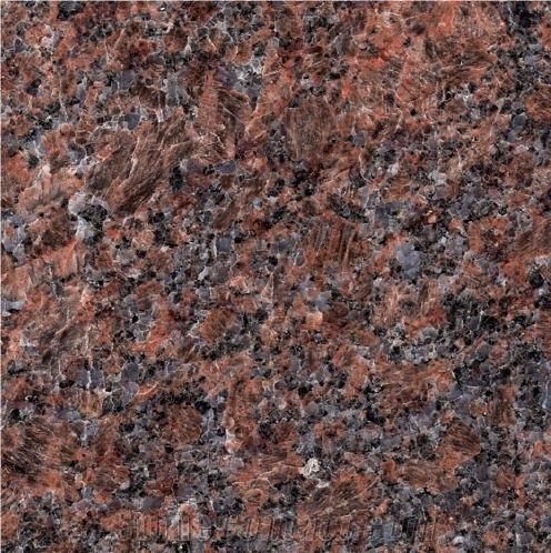 Dakota Mahogany Brown Granite