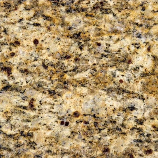 Giallo Santa Cecilia Granite Yellow