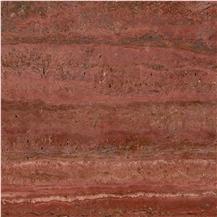 Iran Red Travertine