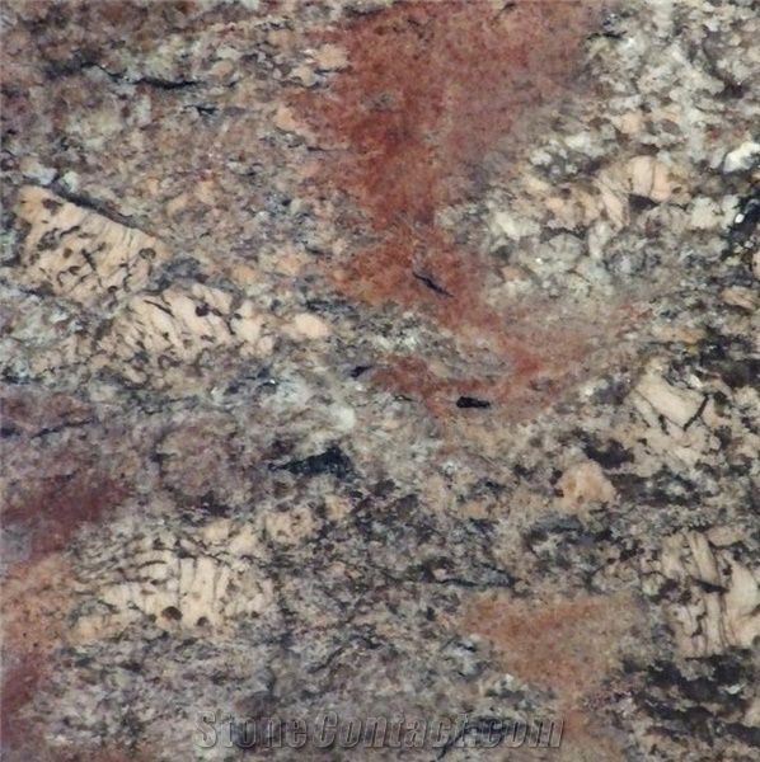 Juparana Crema Bordeaux Granite