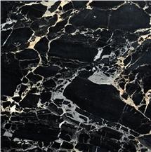 Nero Portoro Bianco