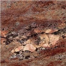 Ocean Bordeaux Granite