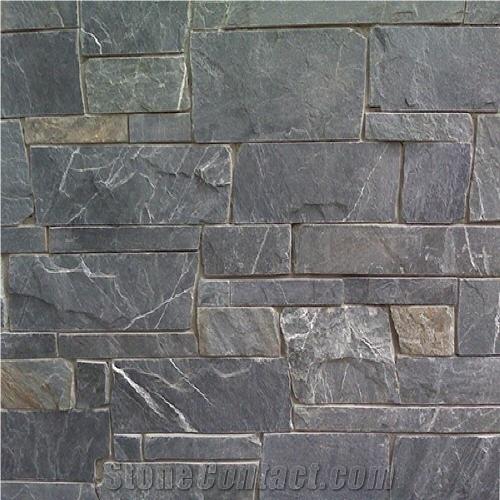 Pacific Ashlar Grey Slate Stonecontact Com