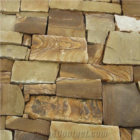 Wildhorse Swirl Yellow Sandstone Stonecontact Com