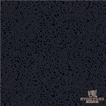 Black Quartz slab & tile