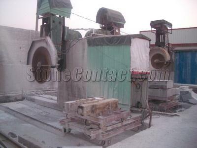 Stone sink machine
