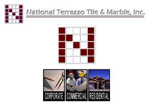 National Terrazzo Tile/Marble logo